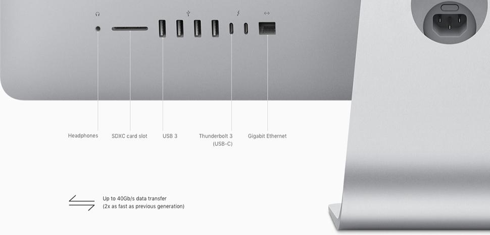 iMac 2 کامپیوتر همه کاره 27 اینچی اپل مدل iMac MNE92 2017 با صفحه نمایش رتینا 5K