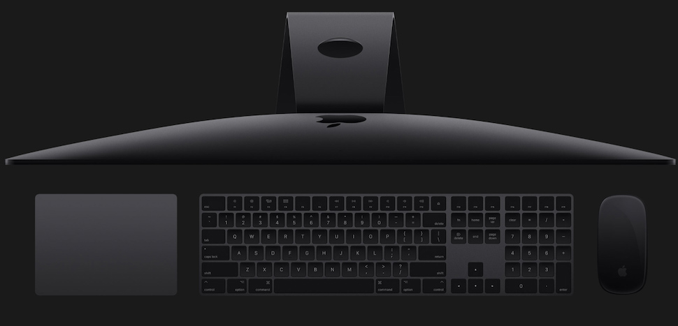 iMac pro 8 کامپيوتر همه کاره 27 اينچي اپل مدل iMac Pro 2017 با صفحه نمايش 5K رتينا