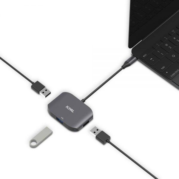 آداپتور مبدل پورت USB-C به USB 3.0 جی سی پال | فروشگاه اینترنتی آی تی پخش